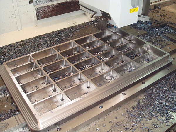 Molds and dies for brick making machines