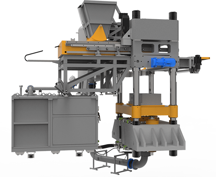 Sand-lime brick and block making machines