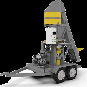 Minipress brick machine