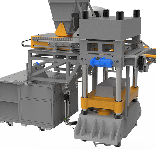 Sand-lime brick making machine