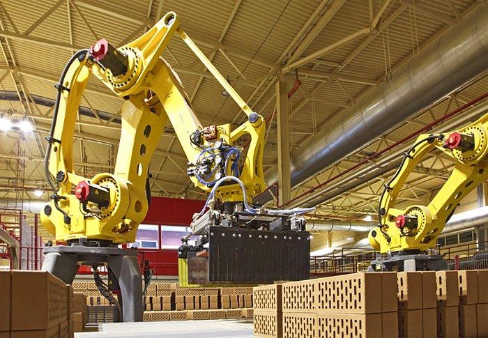 Робот-укладчик кирпича