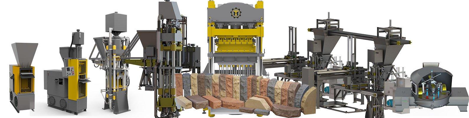 Оборудования для производства кирпича - гиперпрессы TITAN
