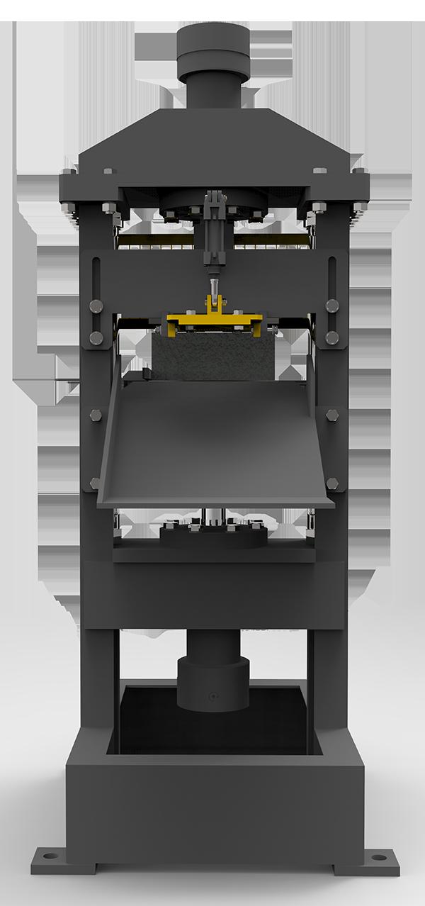 автоматический раскалыватель для кирпича
