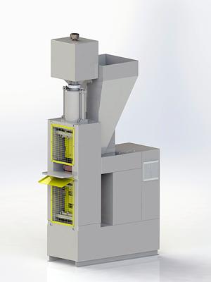 Lego brick making machine