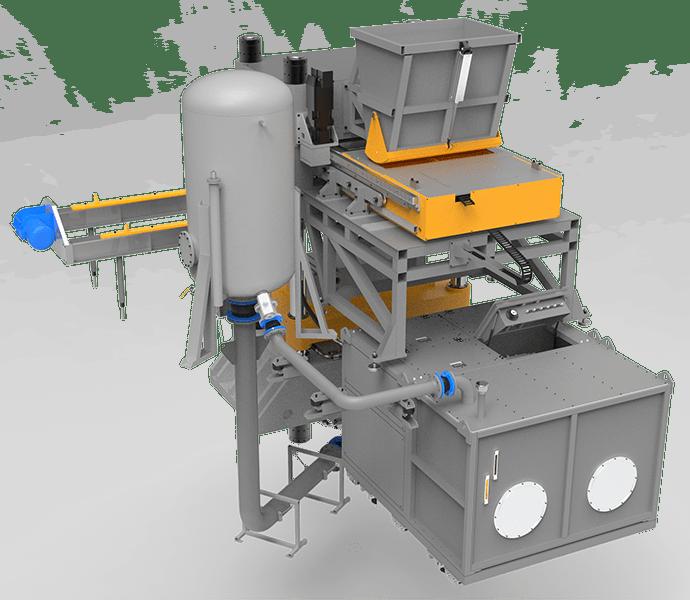 Silica sand brick machine