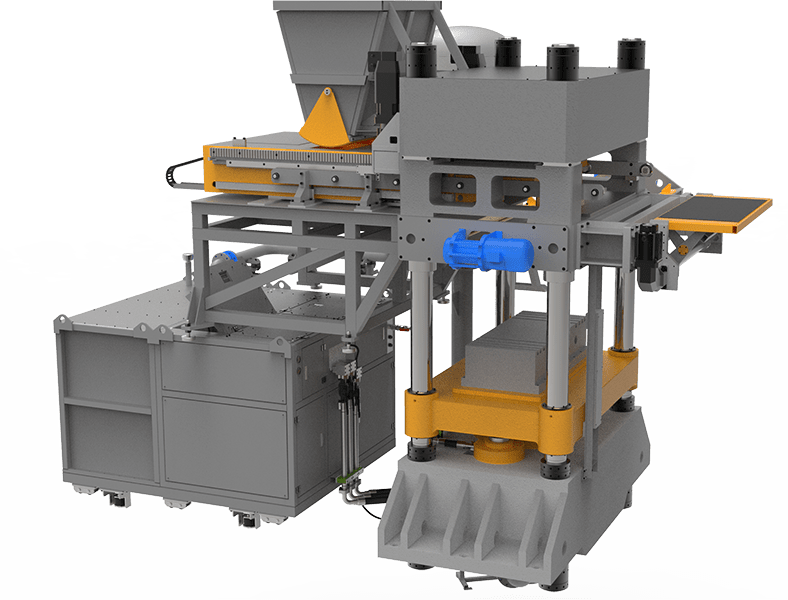 Sand-lime brick making machine