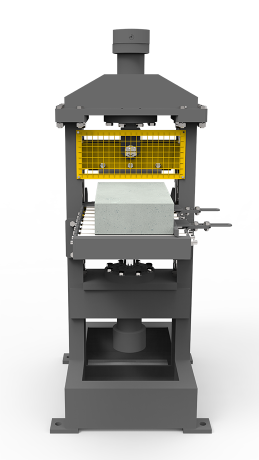 automatic block splitter for block machine