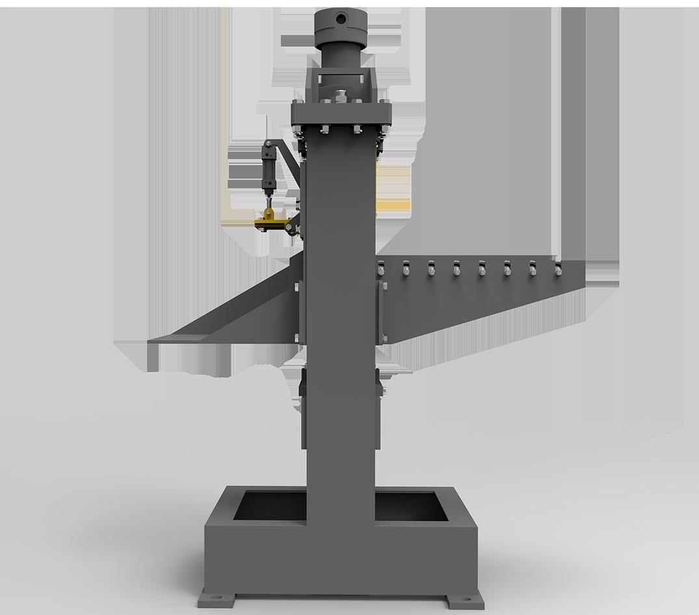 Automatic brick splitter