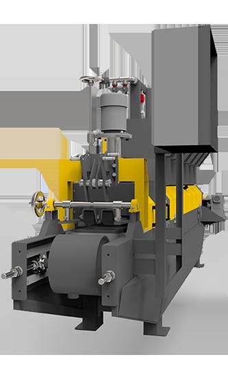 Brick polishing machine