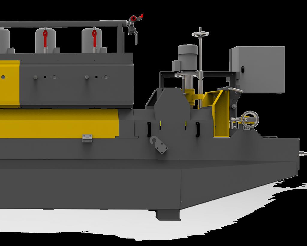 Linear polishing machine